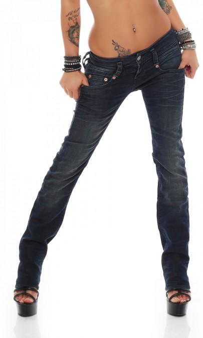 herrlicher pitch straight d8700 627 damen jeans hose. Black Bedroom Furniture Sets. Home Design Ideas